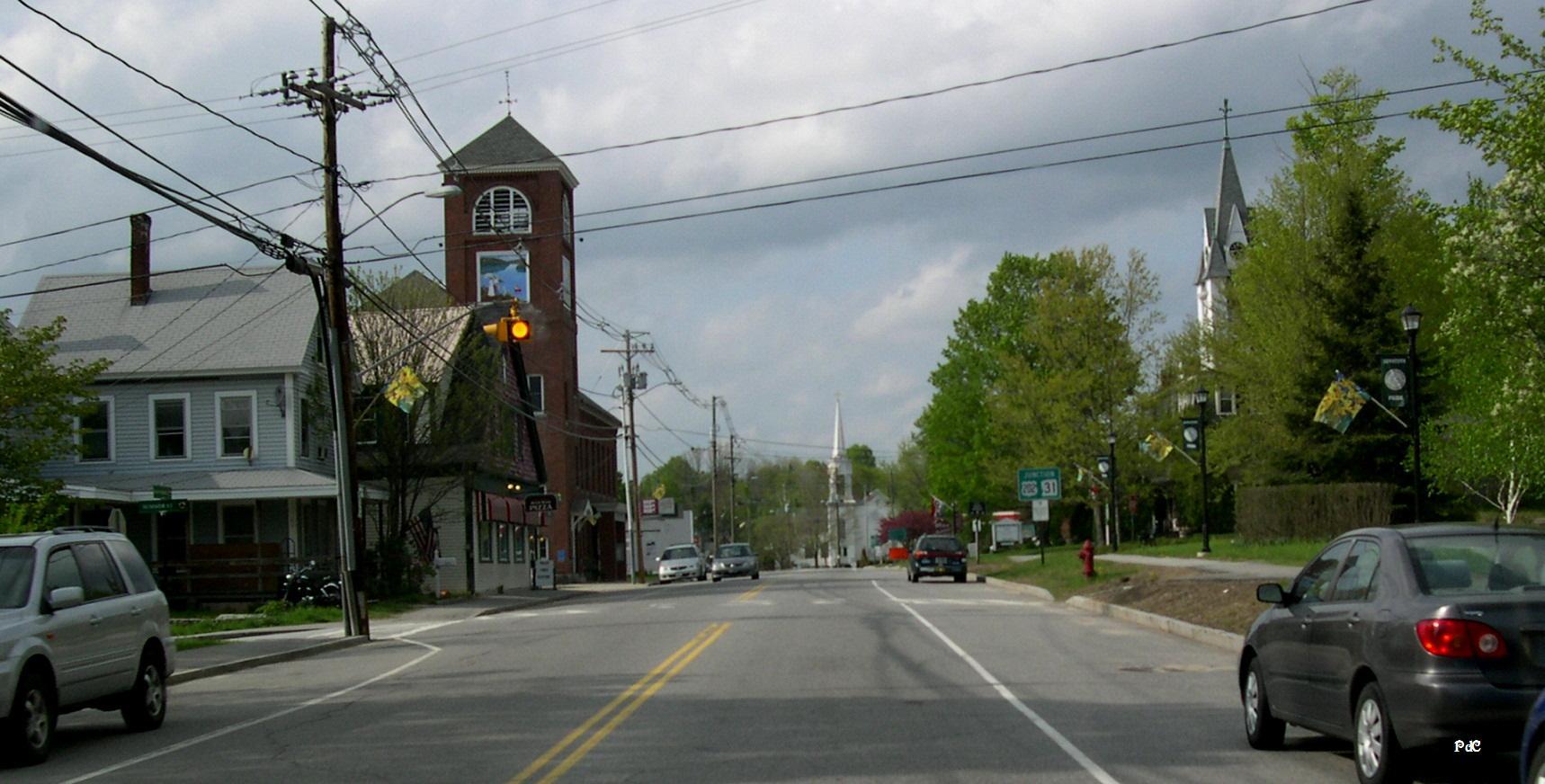 Antrim-New Hampshire-Main street-May09