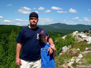 The View atop Isinglass Mountain & My Boys
