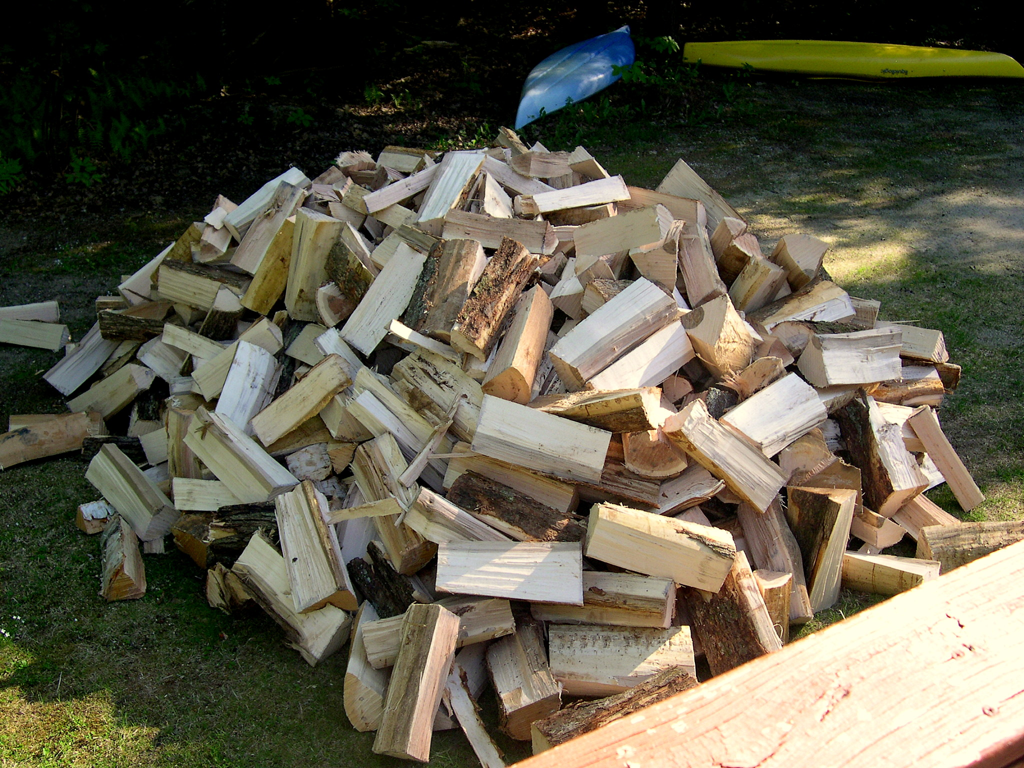 Image result for firewood pile delivery