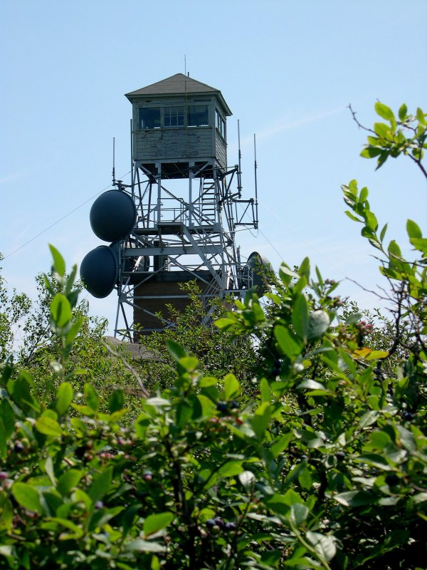 Pitcher Mountain Fire Tower