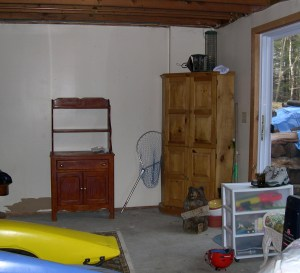 room in the basement