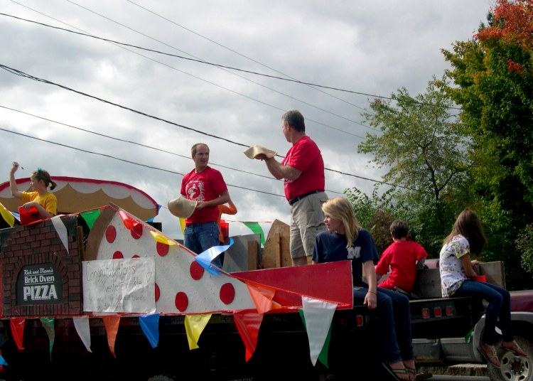 Antrim parade float