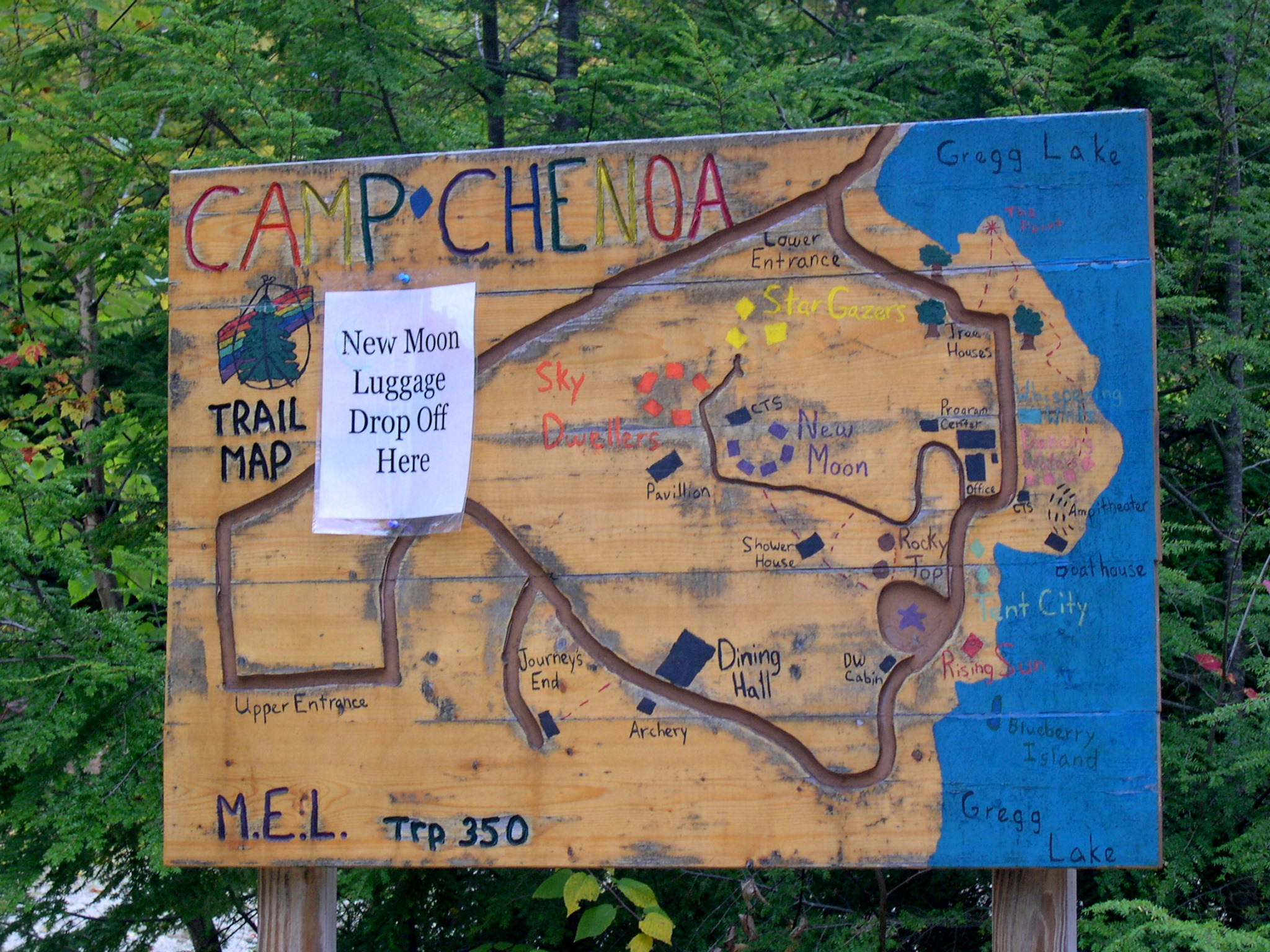 camp chenoa map