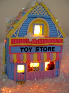 toy store painted ceramic