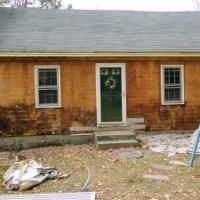 My House Make-Over:  Off With The Old Clapboards