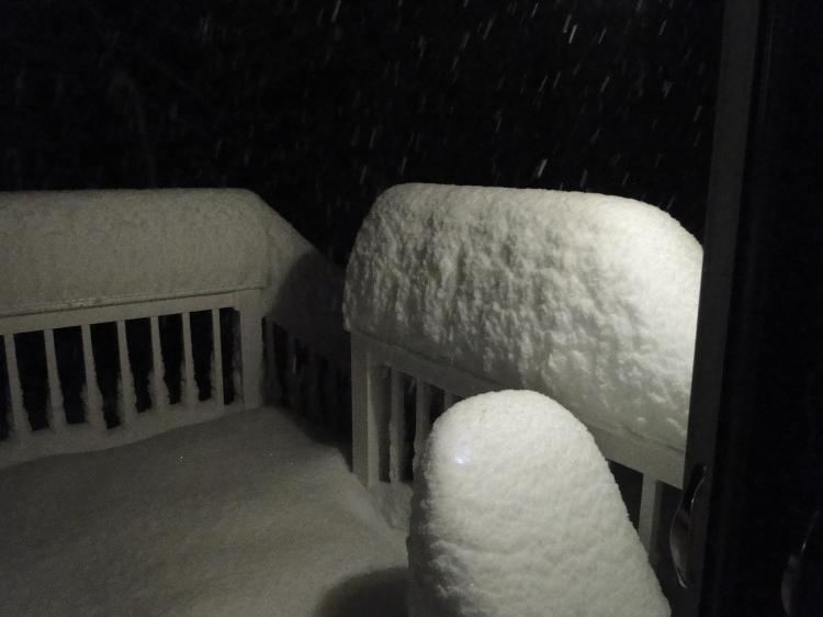 huge snowfall