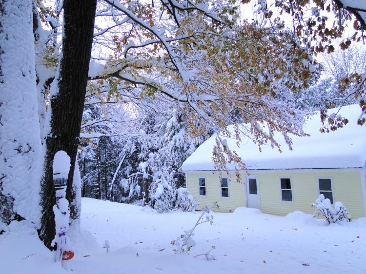 October snowfall snowstorm
