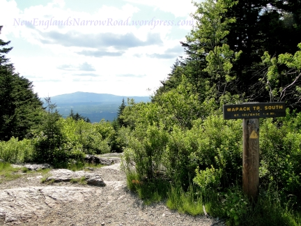 View of mount monadnock from pack monadnock