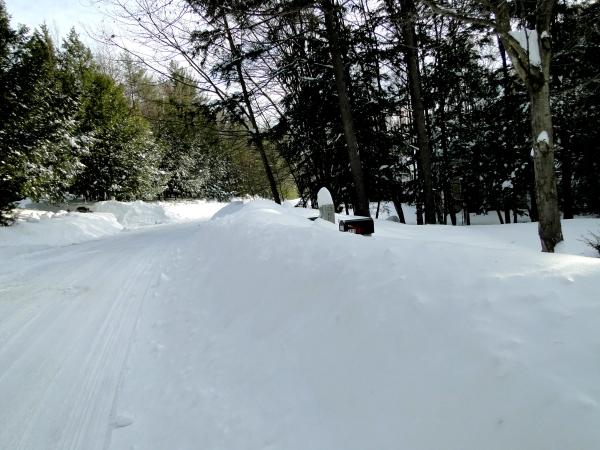 snowstorm mailbox