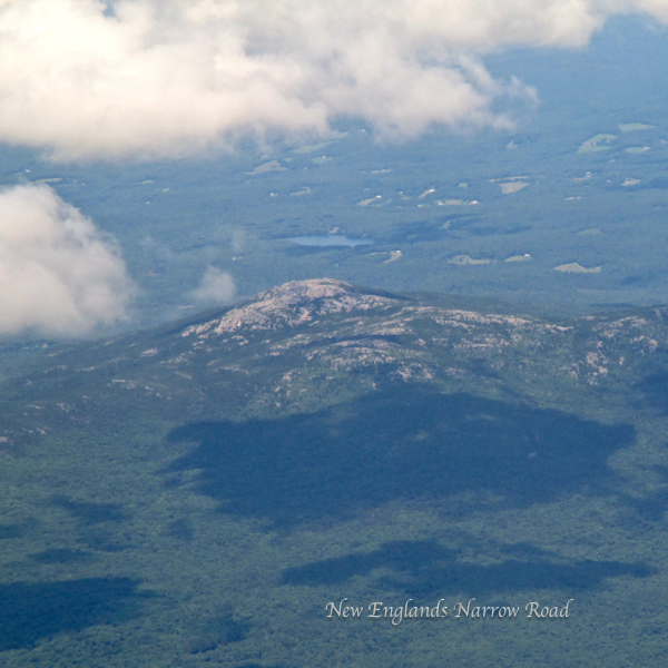 Viewing Mt. Monadnock From the Air