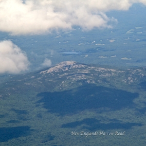 plane view of mt. monadnock