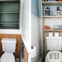 My Bathroom Fixer Upper, Before and After