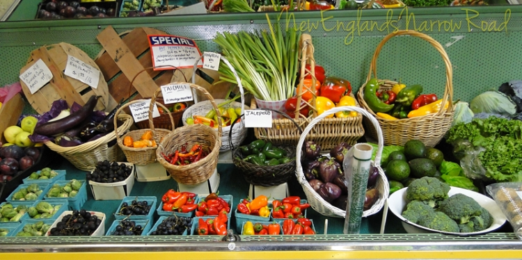 farm vegetables peppers
