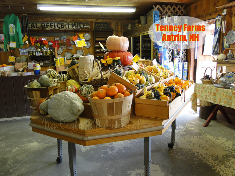 Fall Harvest at New Hampshire Farm Stand (2/5)