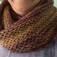 Autumn Colors / Honey Cowl Pattern
