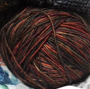 Malabrigo ball of yarn