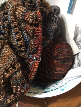 Shade loving shawl