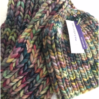 Knit a Simple Hat and Scarf in Bulky Malabrigo Rasta Yarn