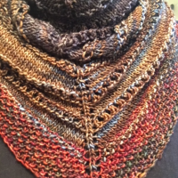 Trying My Hand at Knitting a Shawl