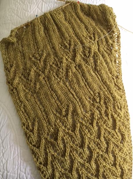 mystery knitting shawl knit along