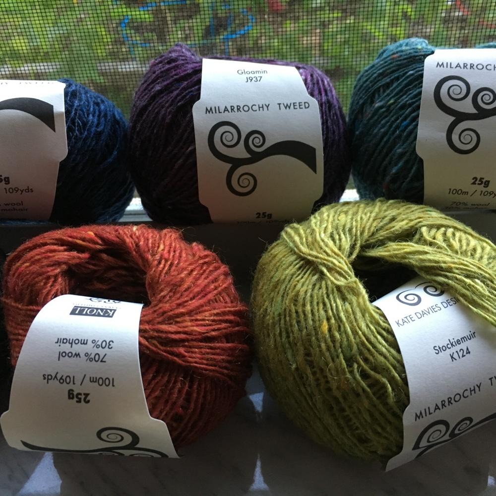 Milarrochy Tweed yarn