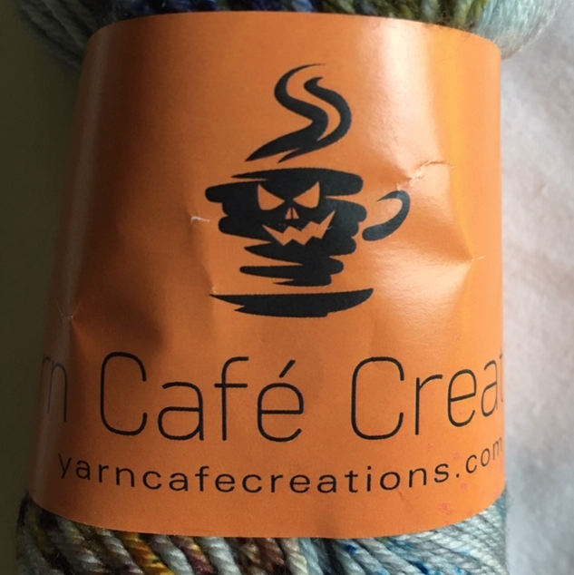 yarn café creations skein of blue