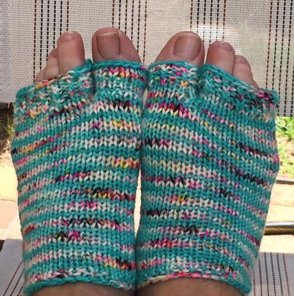 Flip flops free sock pattern
