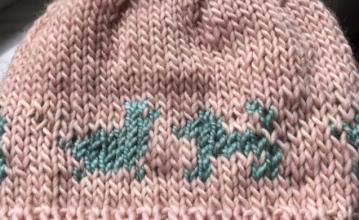 Finished little hat
