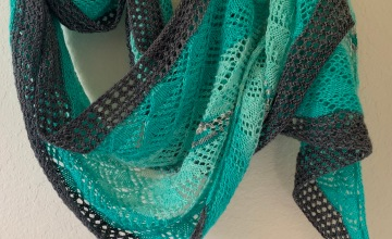Quince Wrap shawl pattern