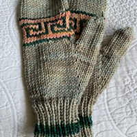 Added a Greek Key Design to World's Simplest Mittens