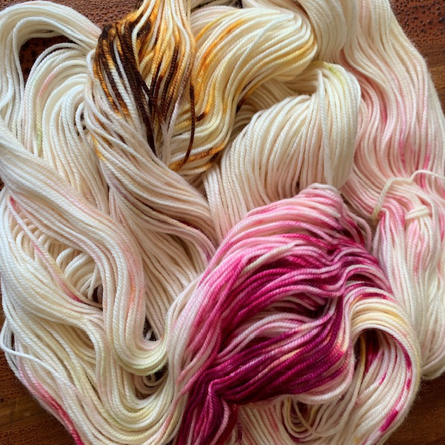 Miss Babs Tea Party yarn