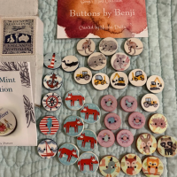 Buying Buttons For Hand Knits