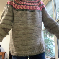The Umpqua Pattern is My First Sweater Project