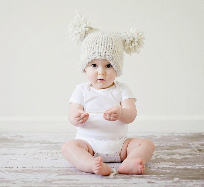 yarn knitting for baby