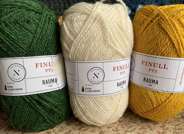 Rauma Finull yarn from Norway