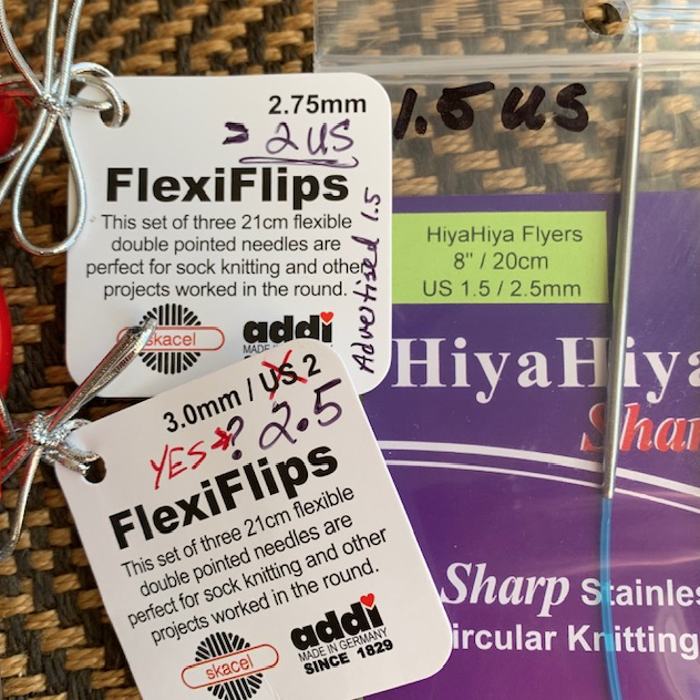 Size difference in Flexi flips