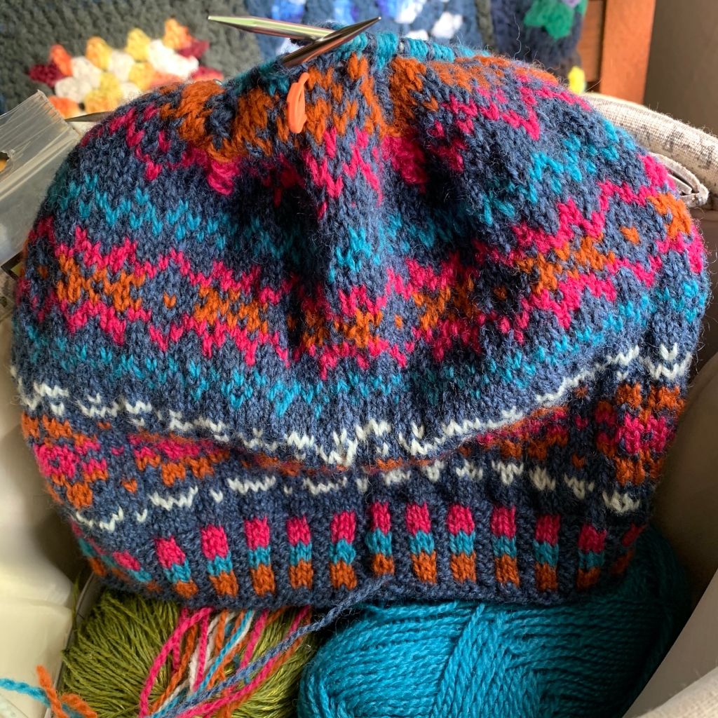 Katie's Kep hand knit hat