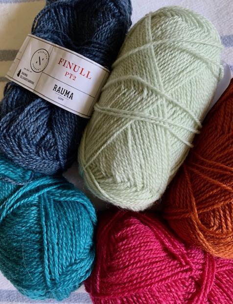Rauma finull PT2 pure wool yarn from Norway