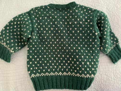 lice pattern sweater knitting