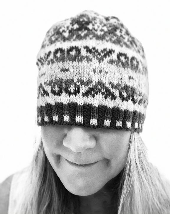 Tettegouche hat pattern
