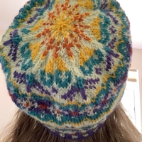 Tettegouche is My Second Colorwork Hat