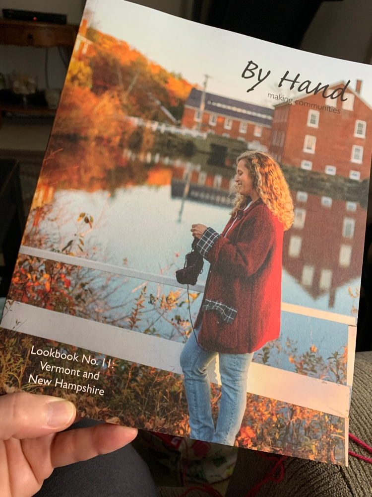By Hand book for knitters and crafters