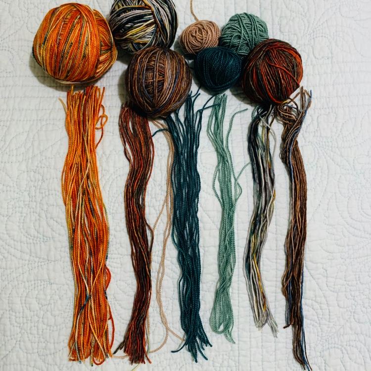 Cutting yarn for fringe