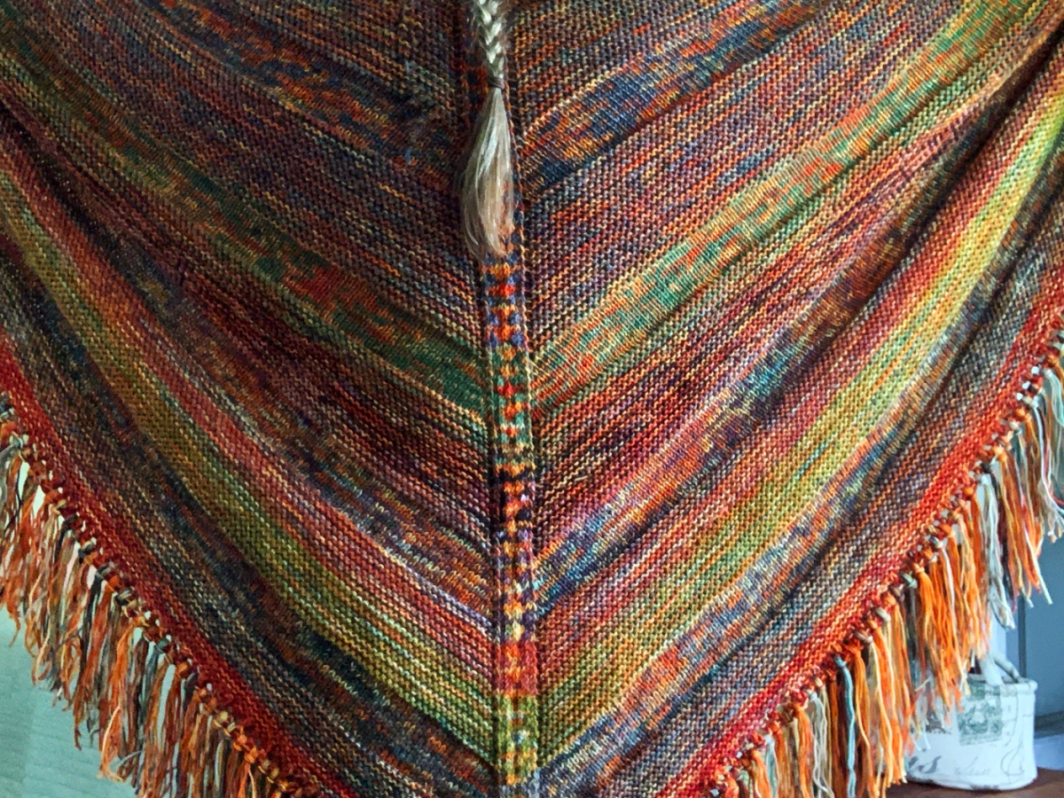 Moon sisters shawl finished