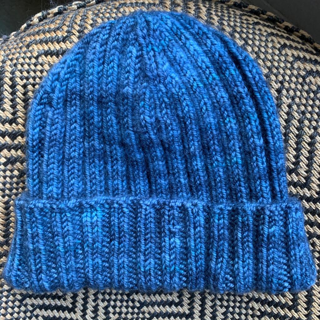 2x2 rib boys hat