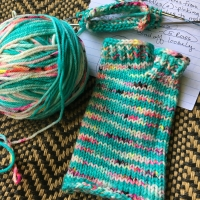 Knitting Flip-Flop Socks