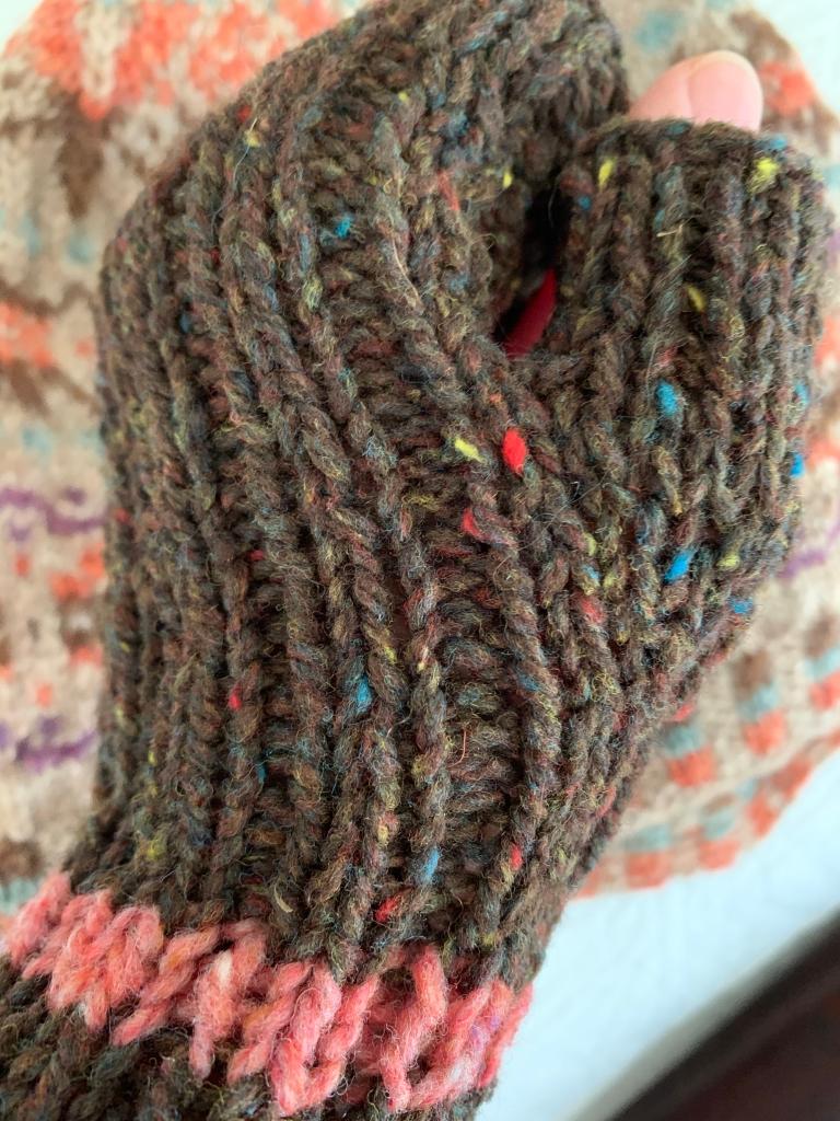 Brooklyn Tweed Shelter yarn in Meteorite