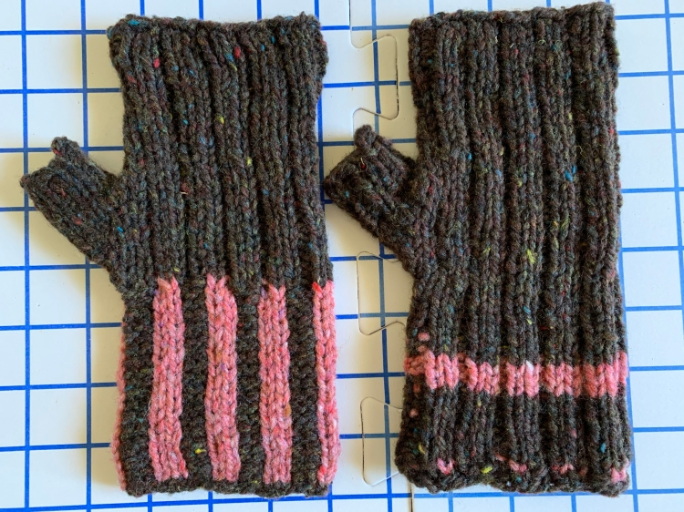 Maine Morning Mitts free pattern