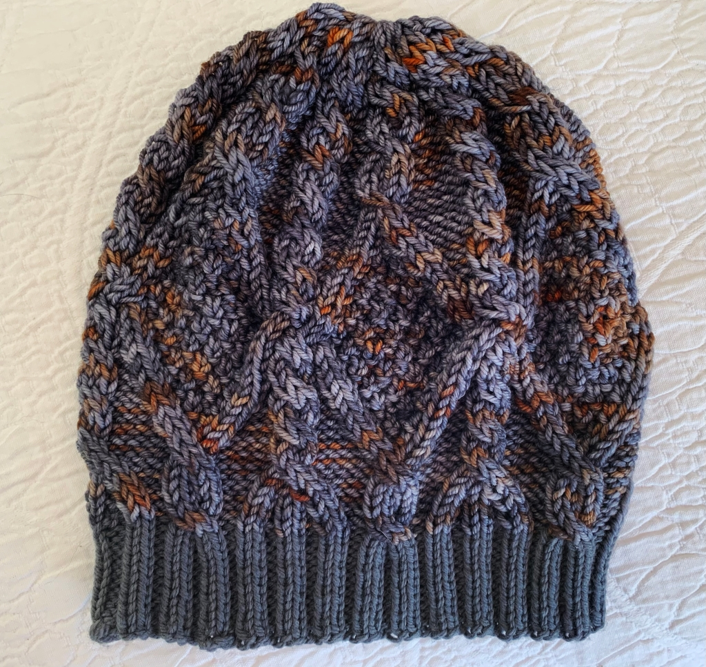 Skiff cable beanie