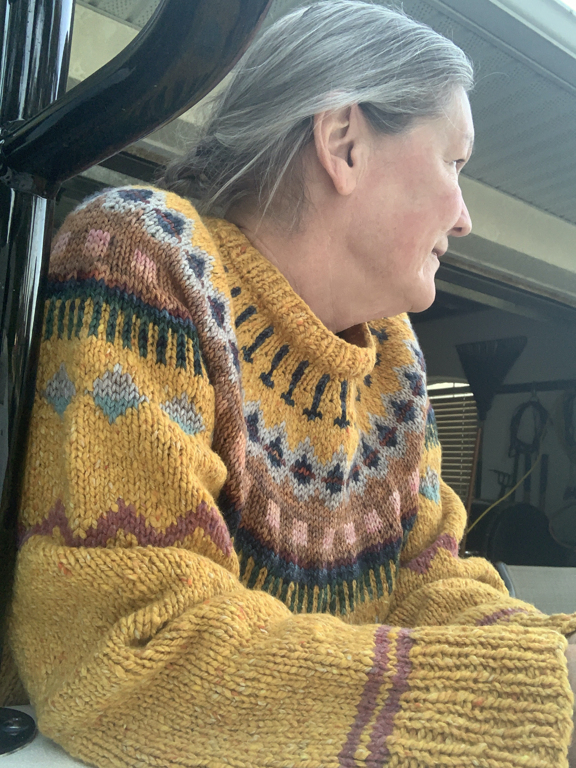 Knitting the Marshland Sweater